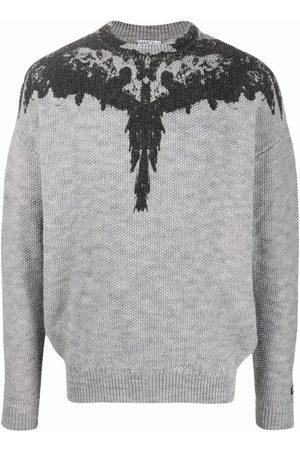 MARCELO BURLON Tempera Wings print jumper
