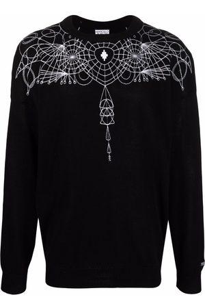 MARCELO BURLON Astral Wings-print jumper