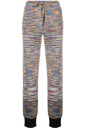 Missoni Women Joggers - Signature-knit track pants