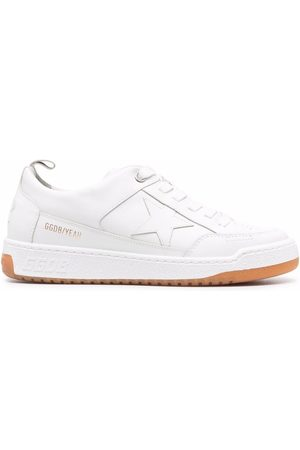 Golden Goose Yeah! star leather sneakers