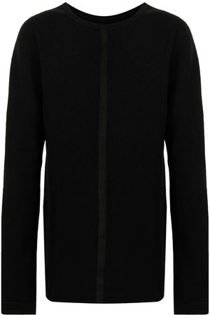 ISAAC SELLAM EXPERIENCE Raw-cut edge wool sweatshirt