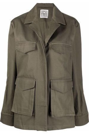 Totême Women Long sleeves - Long-sleeve shirt jacket