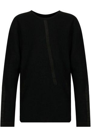 ISAAC SELLAM EXPERIENCE Tape-detail wool sweatshirt