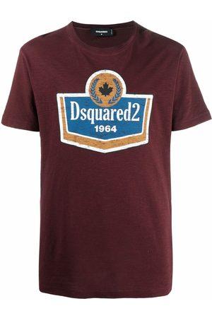 Dsquared2 Men Short Sleeve - Logo-print cotton T-Shirt