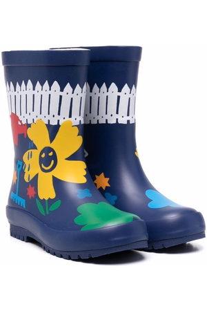 Stella McCartney Wellingtons - Floral wellington boots