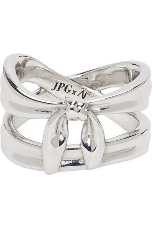 Jean Paul Gaultier SSENSE Exclusive Alan Crocetti Edition Double Wrap Bandana Ring