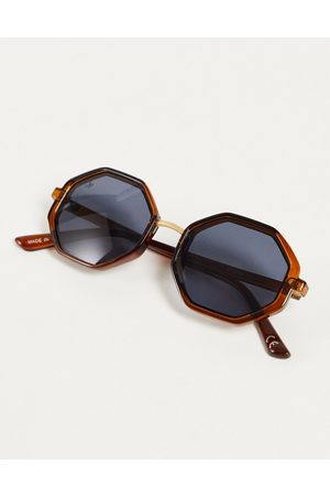 Jeepers Peepers Hexagonal lens sunglasses