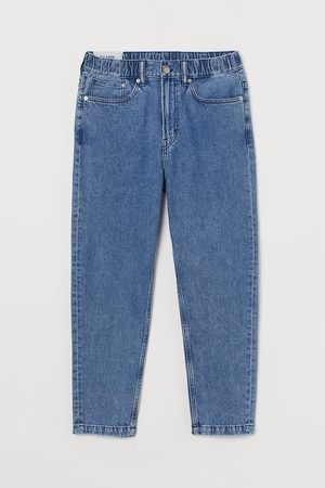 H&M Relaxed Tapered Pull On Jeans
