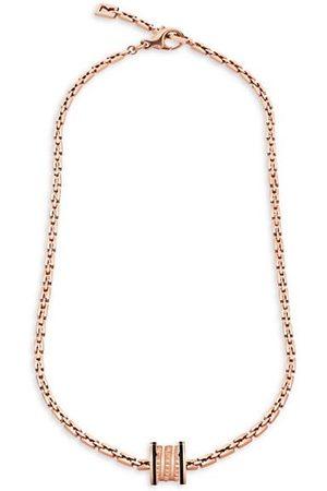Bvlgari B.zero1 Rock 18K & Black Ceramic Pendant Necklace