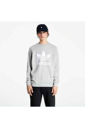 adidas Adidas Trefoil Crew Mgreyh/ White