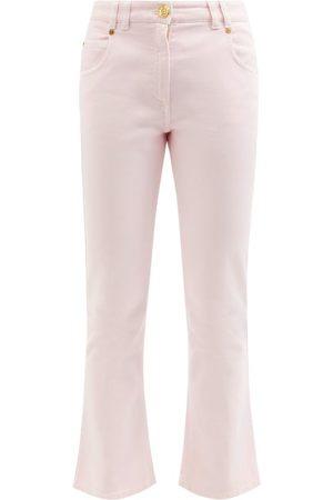 Balmain Women Bootcut & Flares - Low-rise Cropped Kick-flare Jeans - Womens
