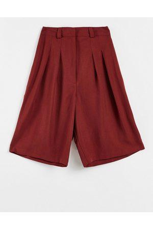 ASOS Soft tailored bermuda shorts in