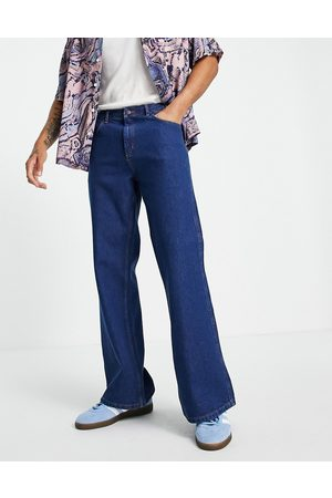 Topman Flared jeans in bright