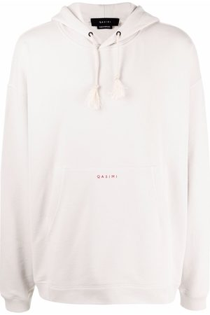 QASIMI We The People embroidered hoodie