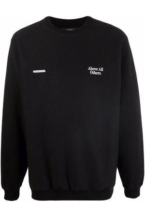 NEIGHBORHOOD Sweatshirts - Embroidered cotton sweatshirt