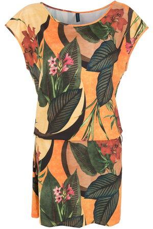 Lygia & Nanny Floral leaf print belted dress