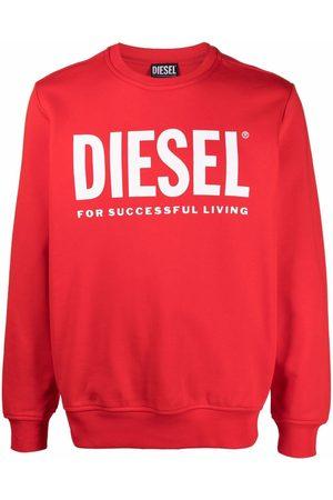 Diesel Logo-print cotton sweatshirt