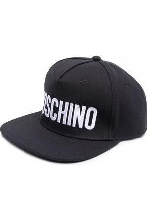 Moschino Men Caps - Logo-print flat cap