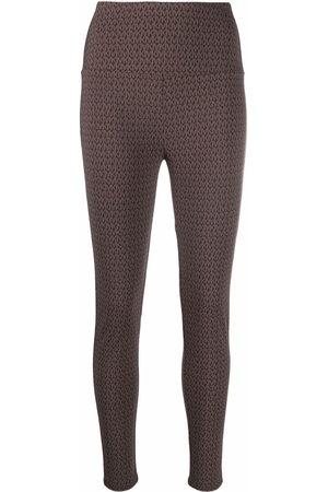 Michael Kors Monogram-patterned leggings