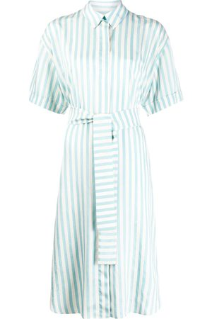 Paul Smith Women Casual Dresses - Striped shirt dress