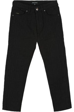 Emporio Armani Logo-jacquard jeans