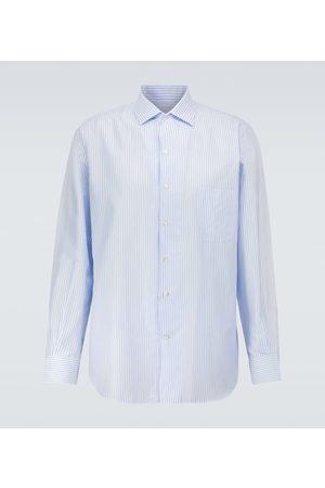 Loro Piana André striped cotton shirt