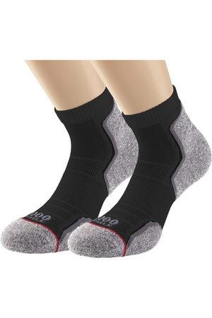 1000 Mile Men Sports Underwear - Run Anklet Mens Sports Socks - Twin Pack