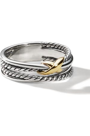 David Yurman Women Rings - Sterling crossover X ring