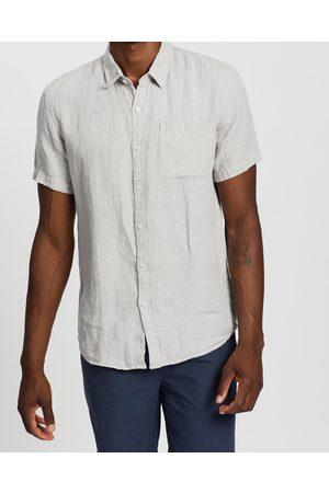 AERE Men Casual - SS Linen Shirt - Casual shirts SS Linen Shirt