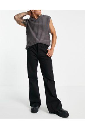 Topman Flared jeans in
