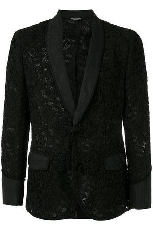 Dolce & Gabbana Men Blazers - Floral lace pattern blazer
