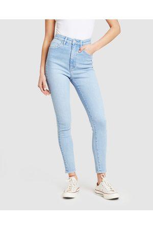 Lee High Licks Crop Skinny Jeans Strike A Chord