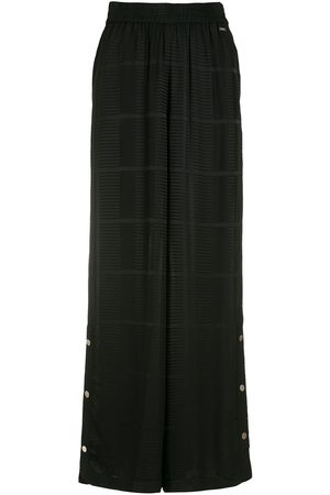 Armani Buttoned wide-leg trousers