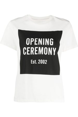 Opening Ceremony Women Short Sleeve - Box-logo T-shirt