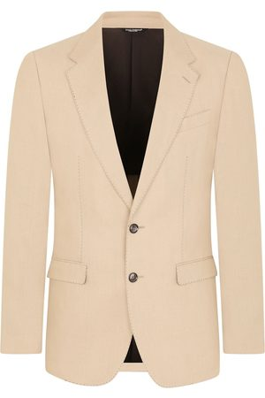 Dolce & Gabbana Men Suits - Single-breasted flax suit