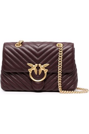 Pinko Love quilted leather bag