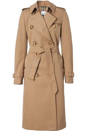 Burberry Women Trench Coats - Belted gabardine trench coat
