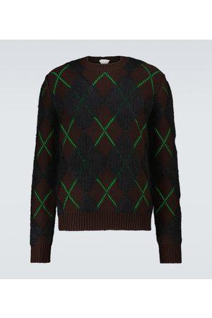 Bottega Veneta Men Sweaters - Knitted wool sweater