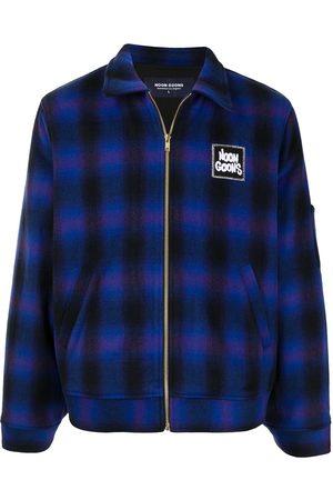 NOON GOONS Check-print zip-up shirt jacket