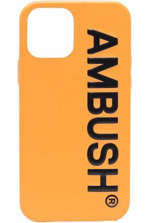 AMBUSH IPHONE 12 PRO CASE MAXI LOGO BLAC