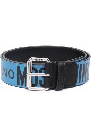 Moschino Logo-tape belt