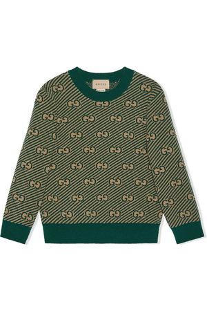 Gucci GG monogram knit jumper