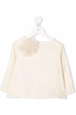 BONPOINT Girls Blouses - Bow detail blouse