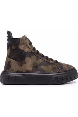 Casadei Off road Generation X camouflage-print sneakers