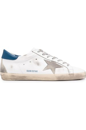 Golden Goose Men Sneakers - Star-patch lace-up sneakers