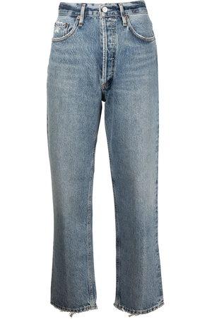 AGOLDE Women Straight - Lana cropped straight-leg jeans