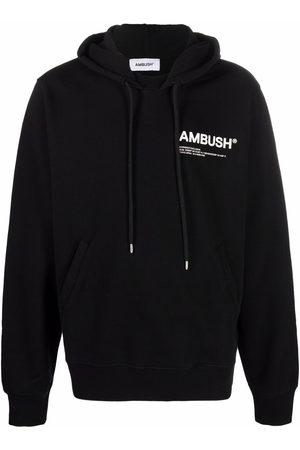 AMBUSH Men Hoodies - Logo-print cotton hoodie