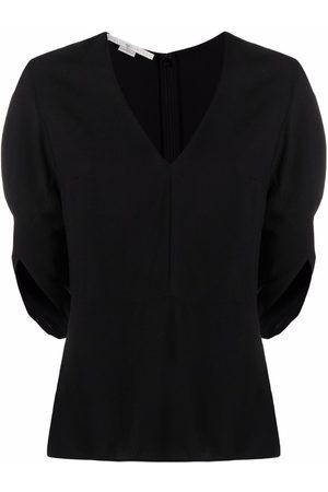 Stella McCartney Melody V-neck peplum blouse