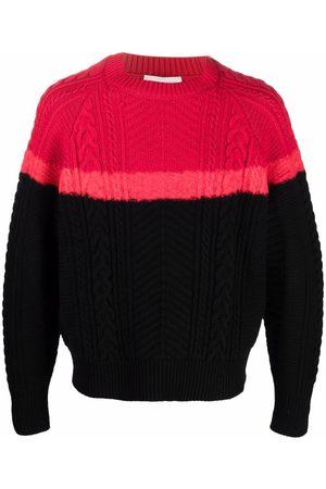 Alexander McQueen Long-sleeve cable-knit jumper