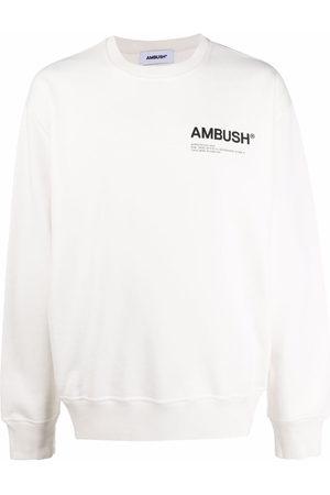 AMBUSH Fleece Workshop logo-print sweatshirt